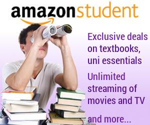 Amazon Prime Student advert