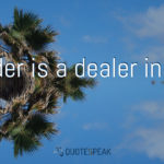 Leadership quotes visualisation: A leader is a dealer in hope - Napoleon Bonaparte