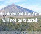25 Substantial Quotes About Trust & Mistrust