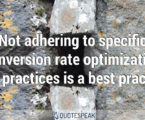 Conversion Rate Optimization – Strategic Advisory Quotes