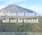 25 Substantial Quotes About Trust & Mistrust
